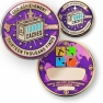 13000 Finds Geocoin + Pin