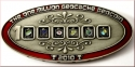 1 Million Geocache Geocoin Antique Silver
